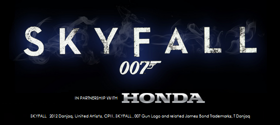 Honda with SKYFALL